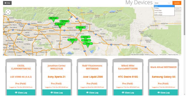 Driver tracking using driver monitoring system by Easy logger