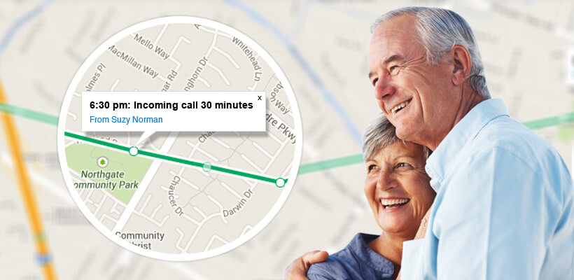 Elderly GPS Tracking