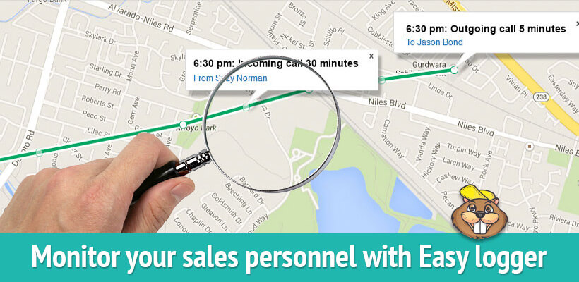 gps tracking for sales personnel