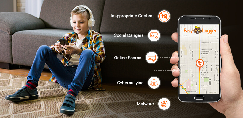 Top 5 Dangers Your Kids Face Online