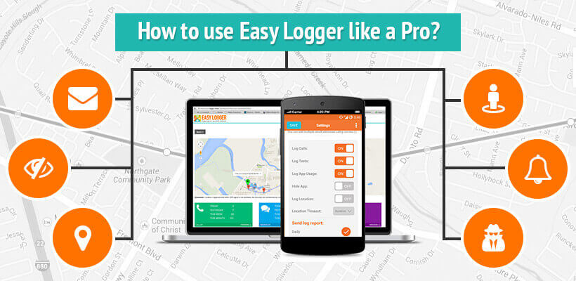 Cell phone monitoring and phone tracker app   Easy Logger